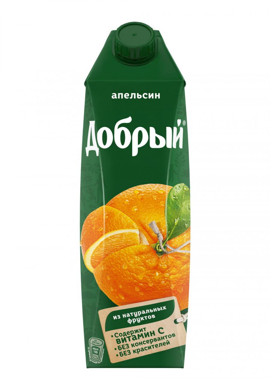 Купить Сок Добрый Апельсин 1л, Кафе Закуток