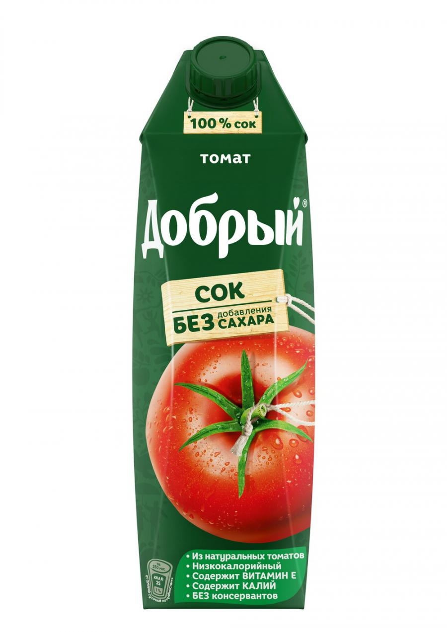Купить Сок Добрый Томат 1л, Кафе Закуток