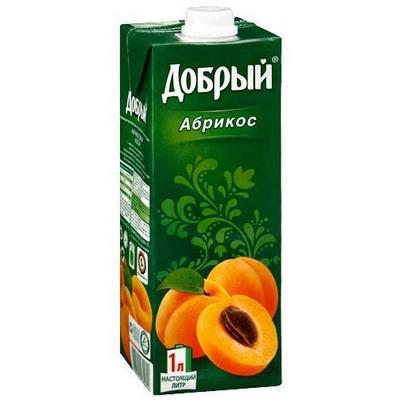 Купить Сок абрикосовый Добрый , WOK - Гродно