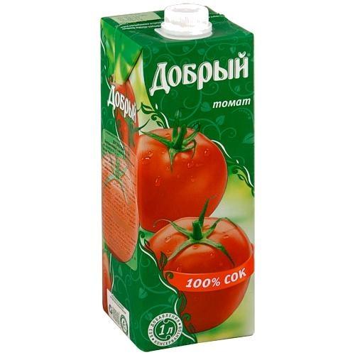 Купить Сок томатный Добрый , WOK - Гродно