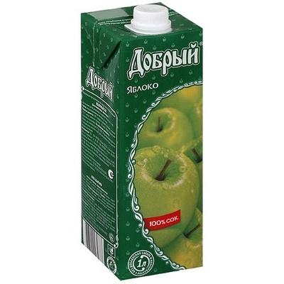 Купить Сок яблочный Добрый , WOK - Гродно