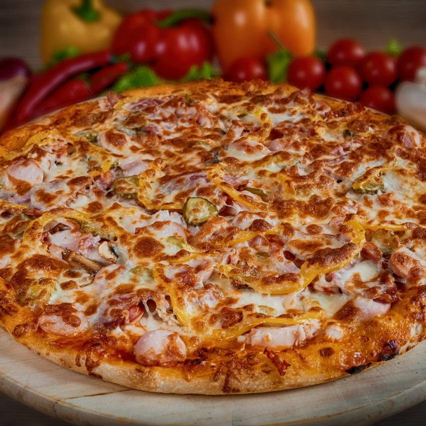 Купить Пицца американская Спект (1.5кг), Кафе Проспект