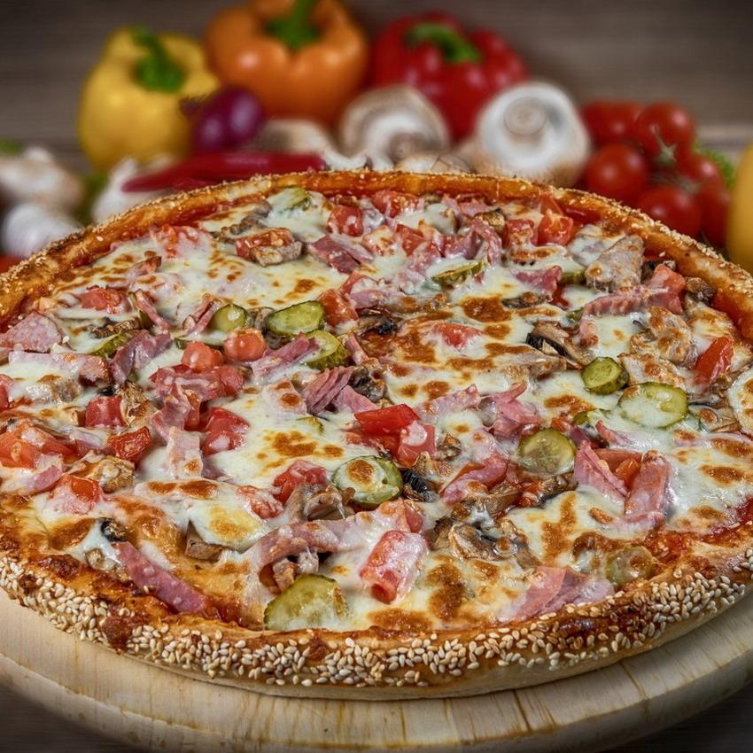 Купить Пицца американская Тако (900г), Кафе Проспект
