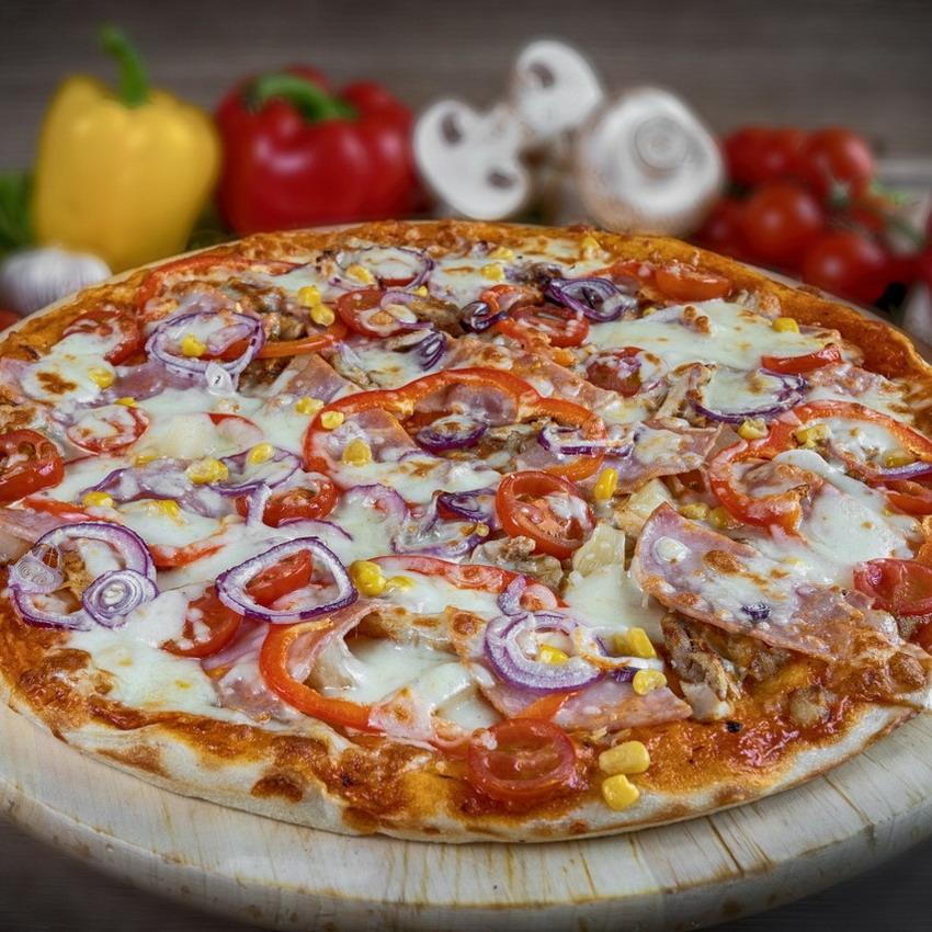 Пицца американская рецепт с фото пошагово