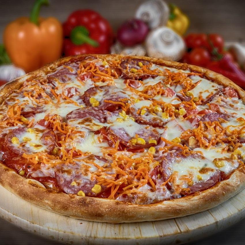 Купить Пицца американская Венеция (1кг), Кафе Проспект
