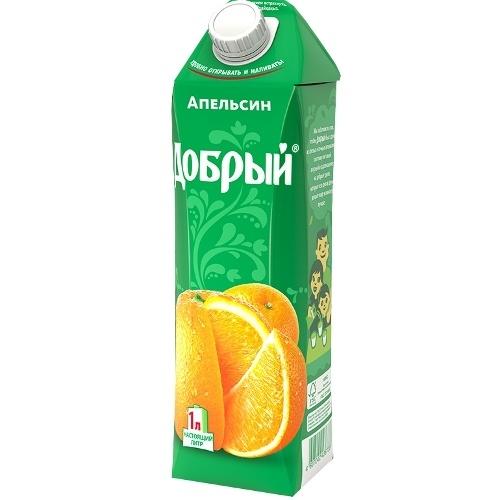 Купить Сок апельсиновый Добрый , Бон Аппетит