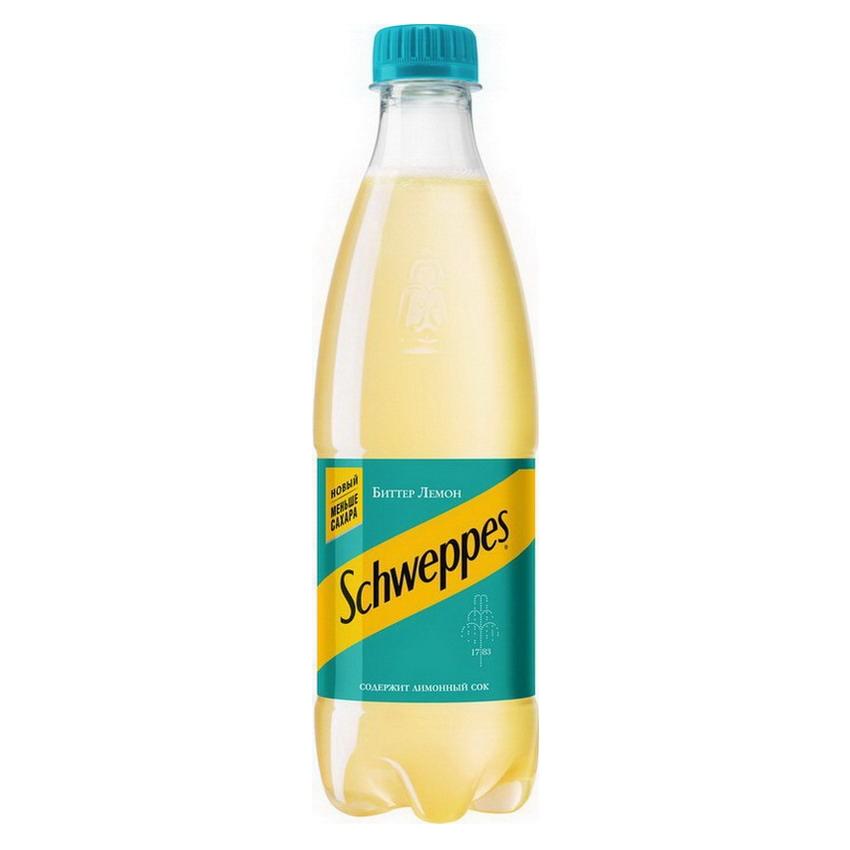 Купить Schweppes Биттер Лимон 0.5л, Бургер Драйв