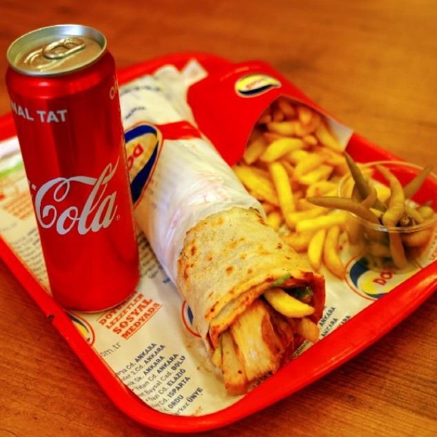 Купить Комплекс с куриной шаурмой Большой, Cafe Los Pollos