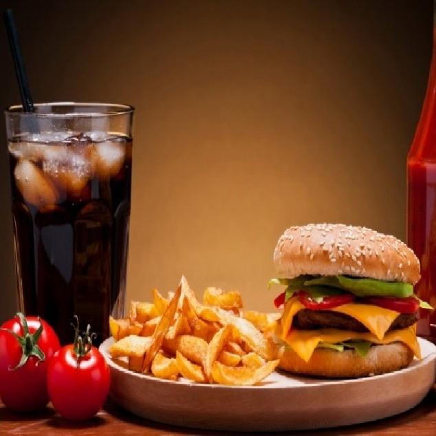 Купить Комплекс с гамбургером, Cafe Los Pollos