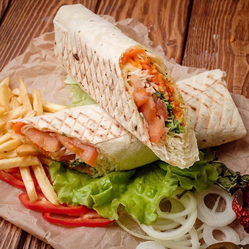 Купить Шаурма Вегетарианская Стандарт, Cafe Los Pollos
