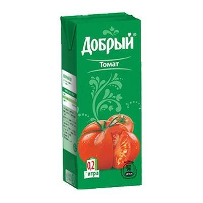 Купить Сок Добрый Томат 0.2Л