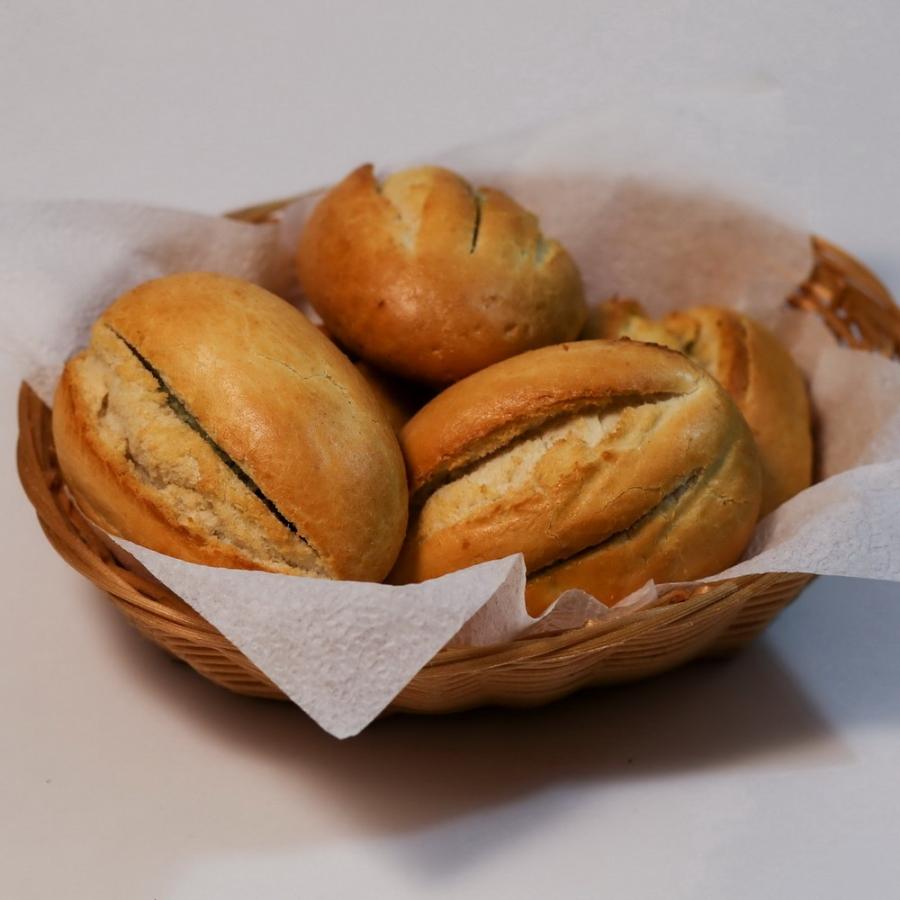 Купить Французская булочка с чесночной начинкой, Кокос