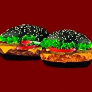 Купить Вип-Бургер с говяжьей котлетой, Бургер Люкс Сити