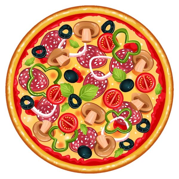 Купить Пицца Четыре сыра 40см, БобрПицца.by