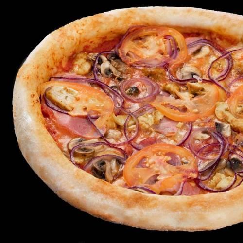 Купить Пицца Сочная 30см, Веселый Самурай