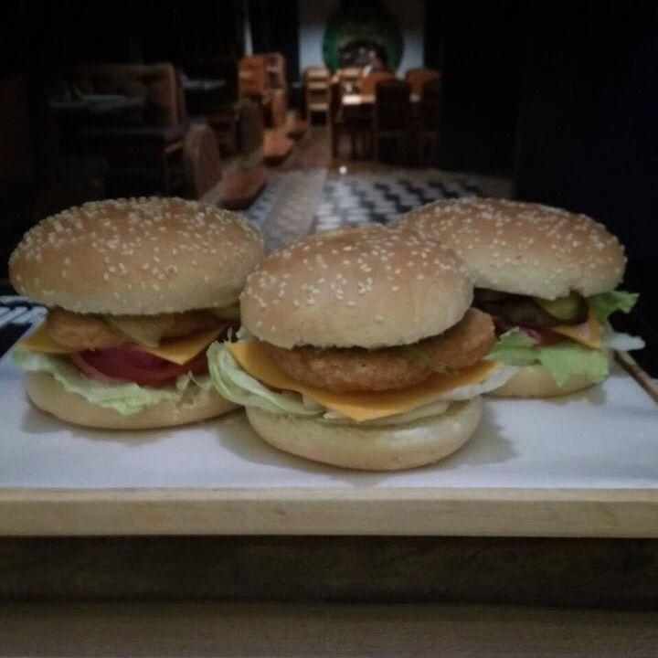 Купить Бургер с курицей Большой, BarB.Q.
