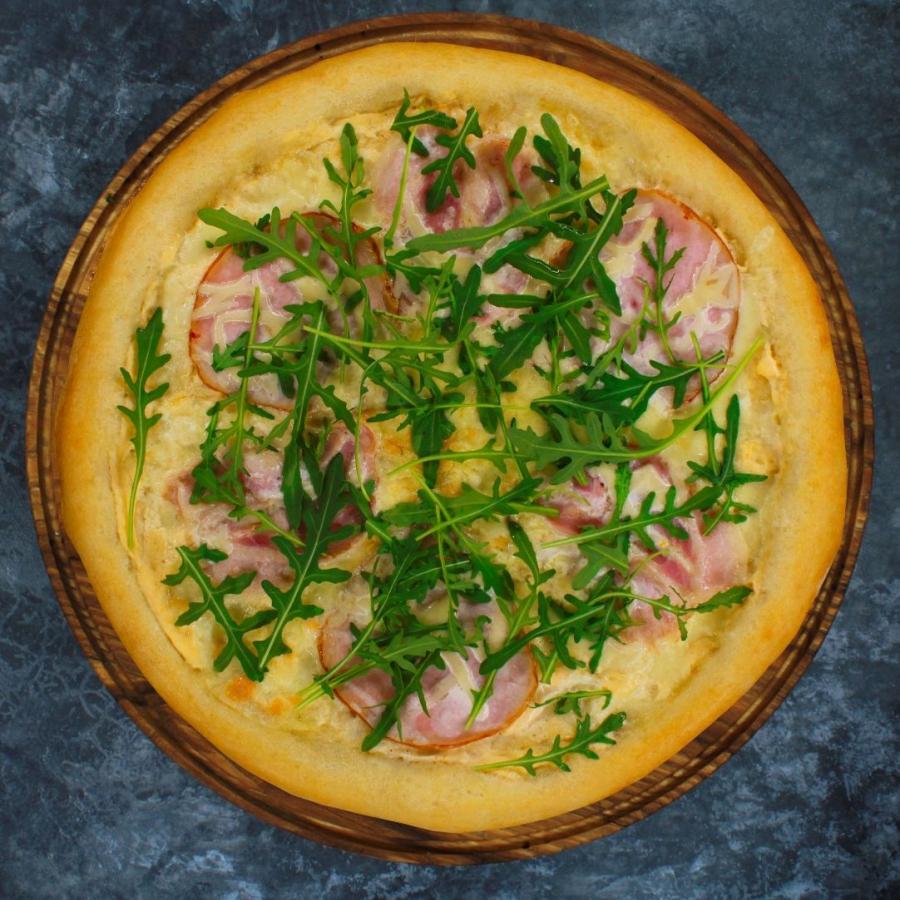 Купить Пицца Карбонара 32см, FOOD HUNTER