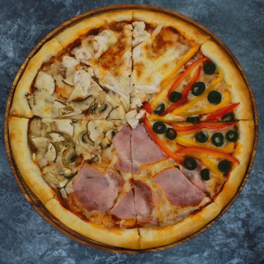 Купить Пицца Четыре сезона 32см, FOOD HUNTER