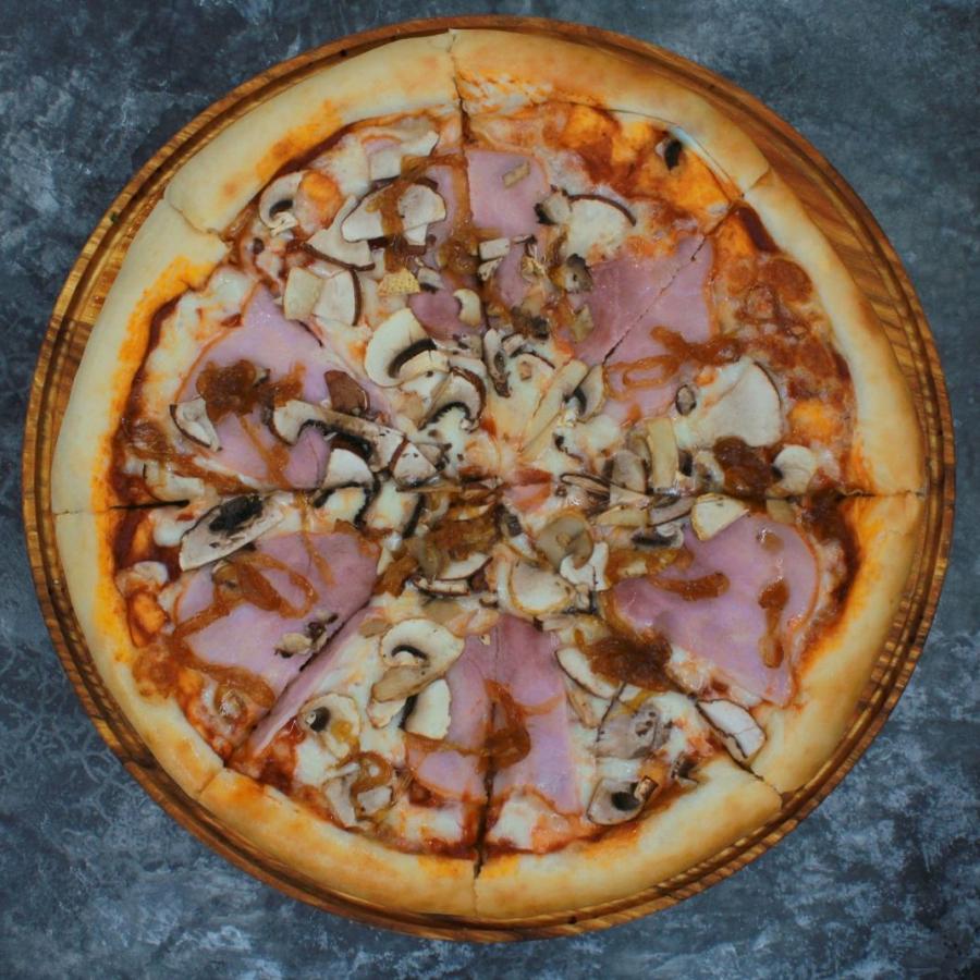Купить Пицца Ветчина с грибами 32см, FOOD HUNTER