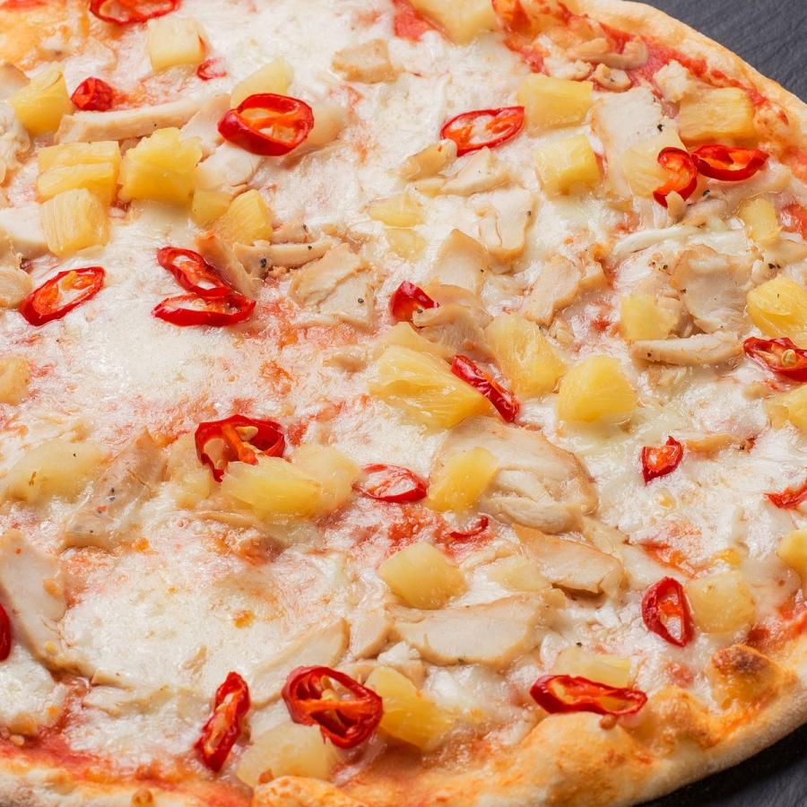 Купить Пицца Гавайская с цыпленком 32см, Terra Pizza