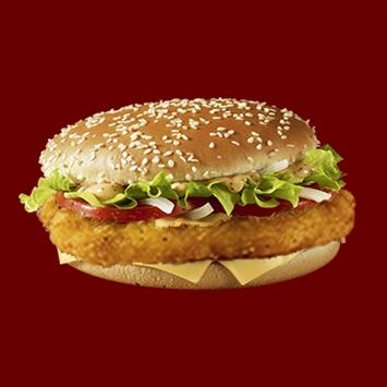 Купить Бургер Люкс с куриной котлетой