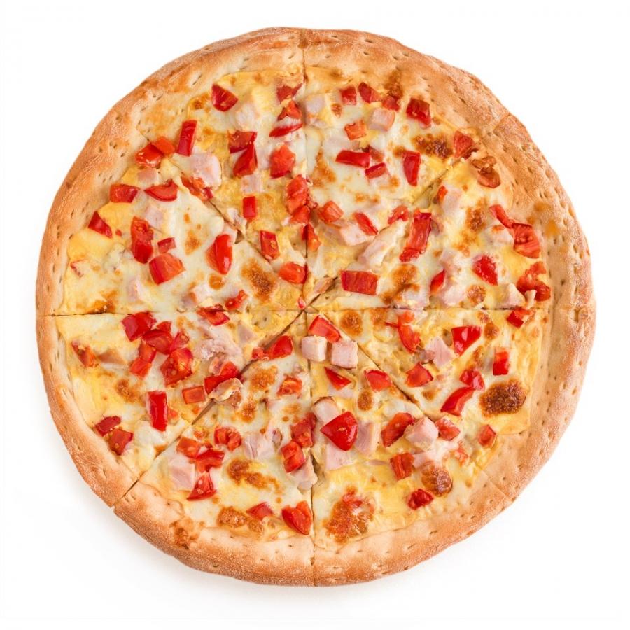 Купить Пицца Сырный Цыпленок 35см, Pizza Planet