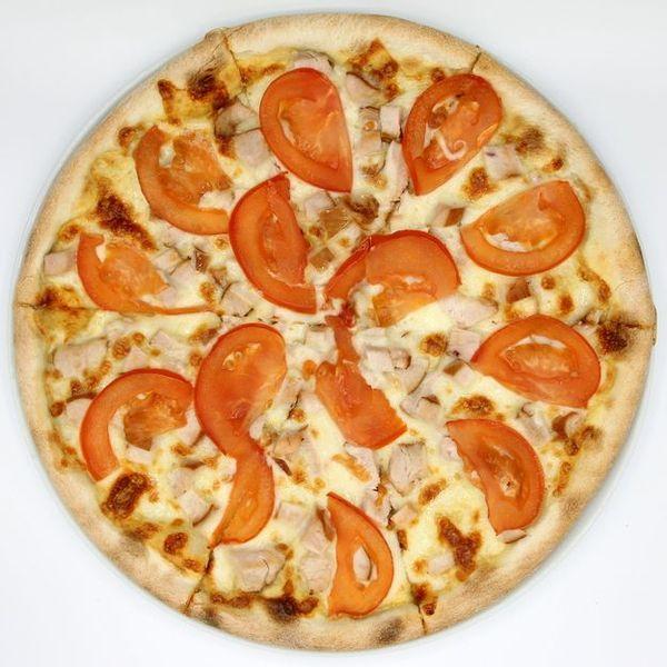 Купить Пицца Сырный Цыпленок 34см, Пицца Корица